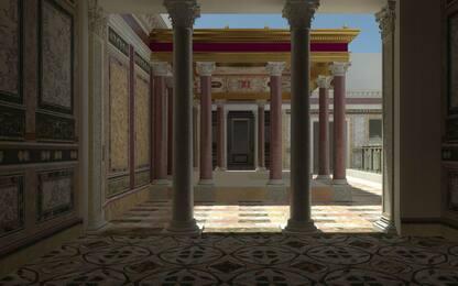 Roma, svelata la prima reggia di Nerone al Palatino. FOTO