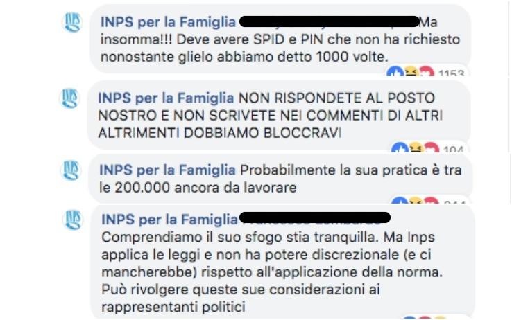 Reddito Di Cittadinanza Social Media Manager Inps Perde La Pazienza Su Facebook Sky Tg24
