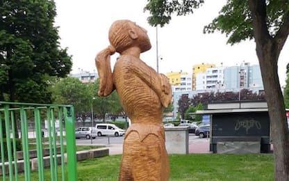 Vighignolo, vandalizzato monumento a Giulia Lombardi