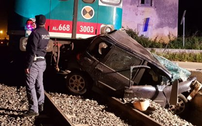 Incidente Noto, treno travolge auto su linea Siracusa-Modica