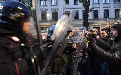 Ramelli, a Milano scontri tra manifestanti di estrema destra e polizia