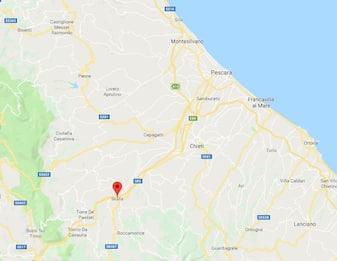 Pescara, terremoto a Scafa magnitudo 2.6. Scossa avvertita nettamente
