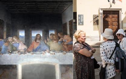 Milano, Cenacolo chiuso per mancanza di custodi. FOTO