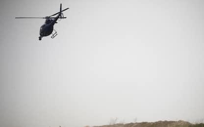 Elicottero precipita sopra Cervinia, un morto e un ferito