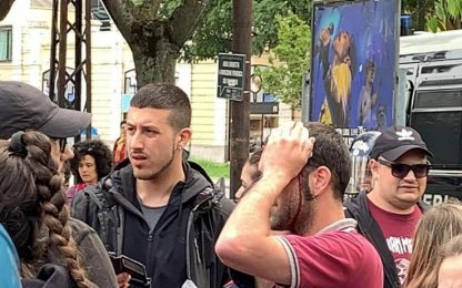 Modena, scontri a presidio anti-Salvini: un ferito