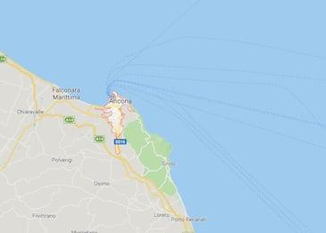 Ancona, corpo senza vita di una ragazza irlandese trovato in mare