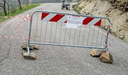 Pinerolo, crollo di calcinacci nel viadotto della circonvallazione