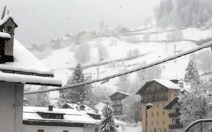 Maltempo, sulle Dolomiti fino a 30 centimetri di neve fresca