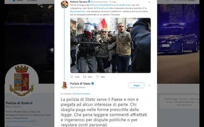 """Gabrielli e il tweet della polizia a Saviano: """"Ho diritto di reagire"""""""