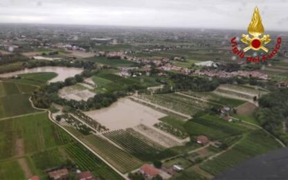 Maltempo, fiumi esondati: allerta rossa nella regione