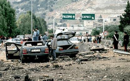 Strage di Capaci, l'attentato del 23 maggio 1992. FOTO
