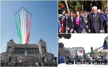 2 giugno, oggi è la Festa della Repubblica: la parata ai Fori