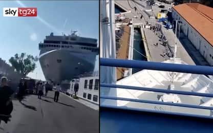 Incidente a Venezia, l'impatto da una doppia prospettiva. VIDEO