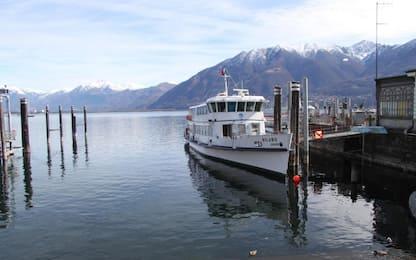 La guardia costiera salva due fratelli sul Lago Maggiore