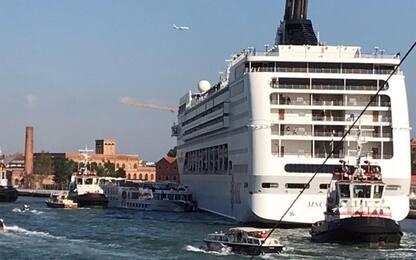 """Incidente Venezia, """"entro giugno via navi da Giudecca e San Marco"""""""