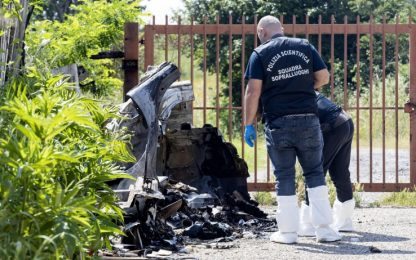Roma, autopsia su corpo carbonizzato: è di una donna sui 60 anni