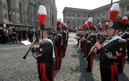 L'Arma dei Carabinieri festeggia il 205esimo anniversario