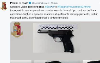 Blitz Polizia contro clan mafiosi nel Foggiano: decine di arresti