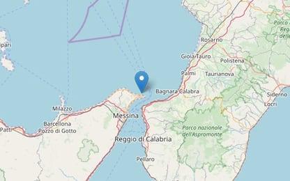 Terremoto nello stretto di Messina, scossa di magnitudo 2.9