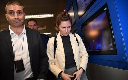 Amanda Knox torna in Italia. FOTO