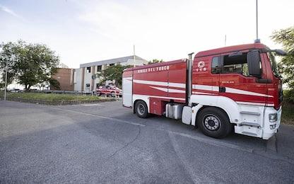 Catania, incendio alla chiesa di Santa Maria del Rosario
