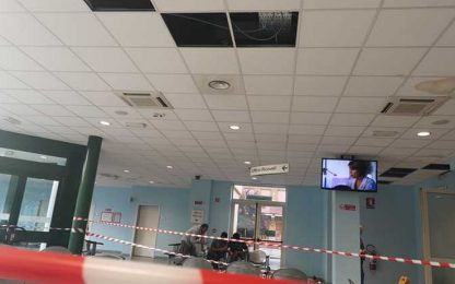 Maltempo, a Milano crollano alcuni controsoffitti all'ospedale Sacco