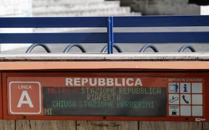 Roma, riaperta dopo 8 mesi la stazione metro di Repubblica
