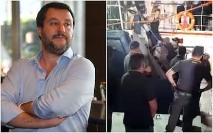 """Sea Watch, Salvini: """"Comportamento criminale, è atto di guerra"""""""