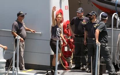 Sea Watch, polemiche per diffusione foto segnaletica di Carola Rackete