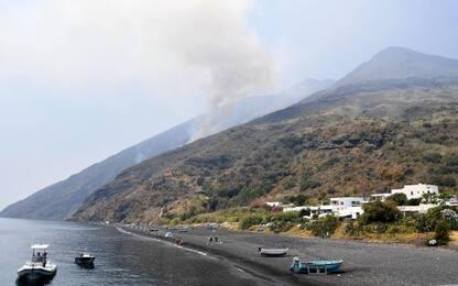 Stromboli, le esplosioni hanno provocato un piccolo tsunami