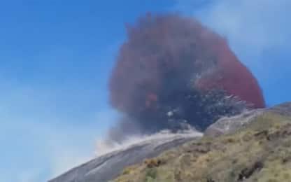 Stromboli, il video dell'esplosione girato dal sopravvissuto. VIDEO