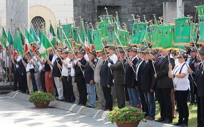 Centenario Alpini: cerimonia al monumento ai Caduti a Milano
