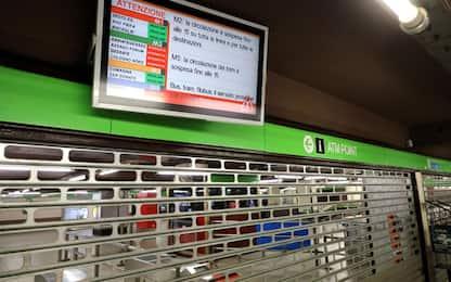Atm, sciopero di venerdì 25 ottobre: stop a metro, bus e tram
