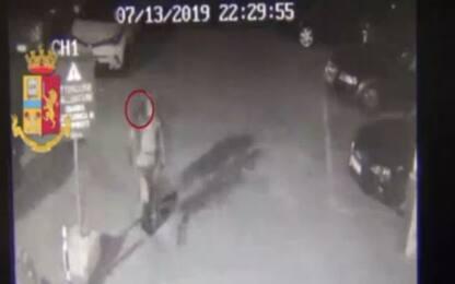 Savona, le immagini del killer poco prima dell'omicidio dell'ex moglie