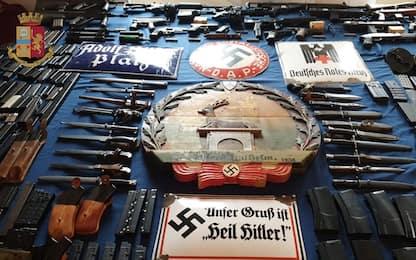Arsenale sequestrato a estrema destra: prefetto vietò armi a arrestato
