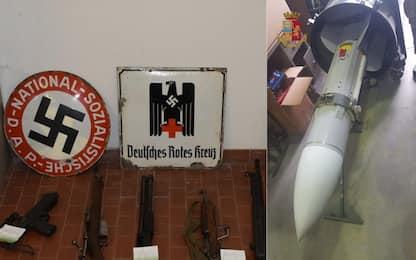 Fucili e un missile: sequestrato arsenale nazista. FOTO