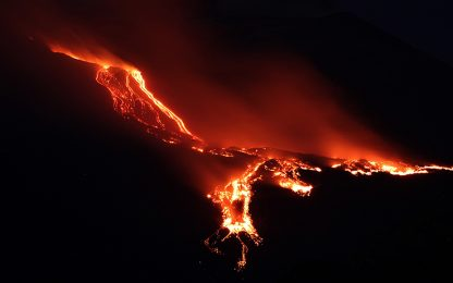 Etna, ricostruite su Nature risalita del magma e evoluzione vulcanismo