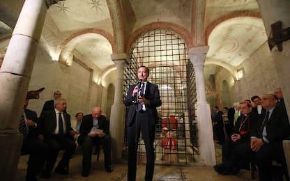 Milano, inaugurata la chiesa ipogea di San Sepolcro dopo il restauro