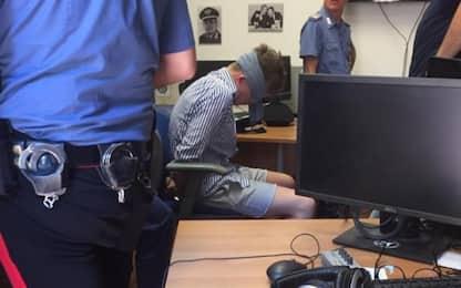 Carabiniere ucciso, polemiche per foto indagato bendato