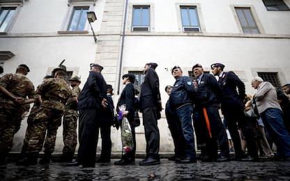 Carabiniere ucciso a Roma, aperta camera ardente. FOTO