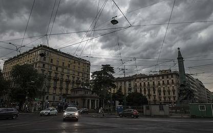 Maltempo, allerta meteo per forti temporali a Milano
