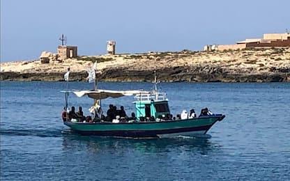 Migranti, ancora sbarchi a Lampedusa: arrivate altre 143 persone