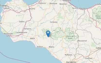 Terremoto a Caltabellotta, lieve scossa di magnitudo 3.6