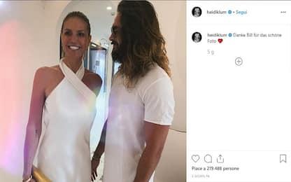Capri, Heidi Klum rischia una salata multa per tuffo in acque proibite