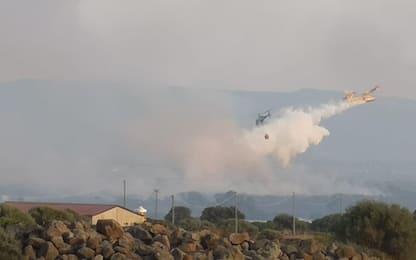 Incendi in Sardegna, ettari in fumo nel Nuorese. FOTO