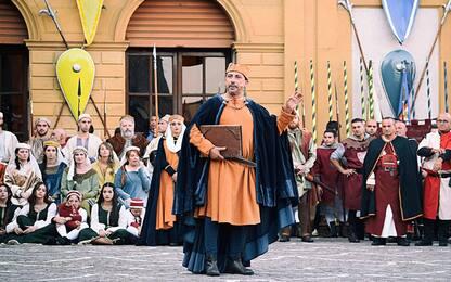 Piazza Armerina, lo spettacolo del Palio dei Normanni. FOTO