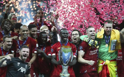 Supercoppa europea, Liverpool-Chelsea 7-6 ai rigori: gol e highlights