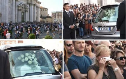 Nadia Toffa, i funerali nella cattedrale di Brescia