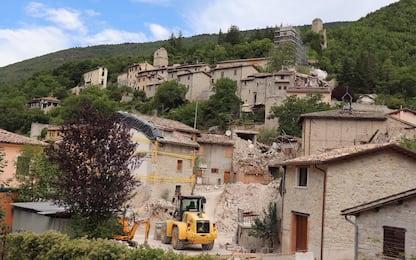Terremoto Umbria e Marche, ricostruzione lontana. FOTO