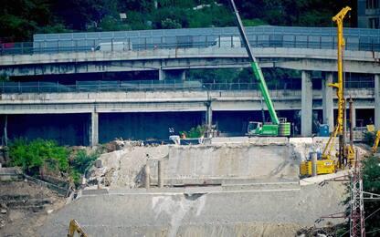 Ponte Morandi, continuano i lavori per il nuovo viadotto